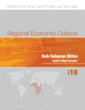 Sub-Saharan Africa. Regional Economic Outlook
